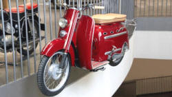 DKW Hobby scooter, 1955